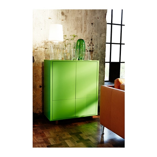stockholm cabinet with 2 drawers green 90x107 cm ikea. Black Bedroom Furniture Sets. Home Design Ideas