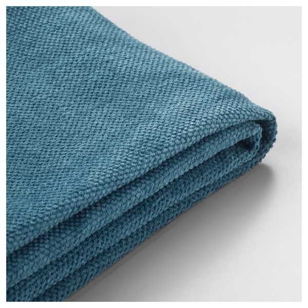 STOCKSUND Cover for armchair, Tallmyra blue