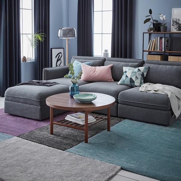 STOENSE rug, low pile medium blue 150 cm 80 cm 18 mm 1.20 m² 2560 g/m² 1490 g/m² 15 mm