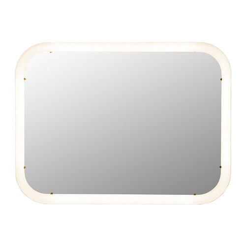 IKEA STORJORM mirror with integrated lighting