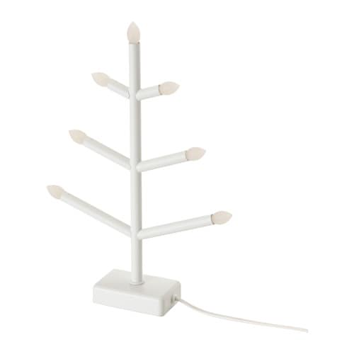 IKEA STRÅLA LED candelabra Gives a warm, cosy glow and spreads the holiday atmosphere in your home.