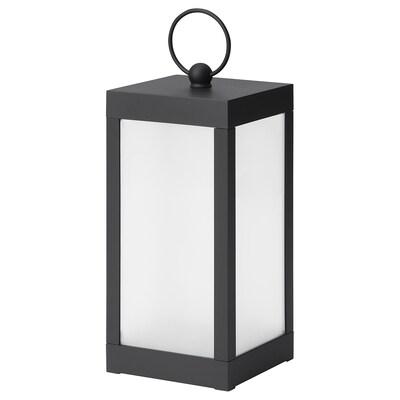 STRÅLA LED decoration lighting, star/battery-operated, 20 cm