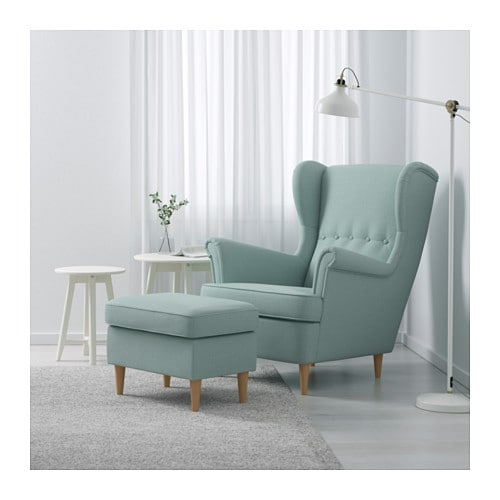 strandmon wing chair skiftebo light turquoise ikea. Black Bedroom Furniture Sets. Home Design Ideas