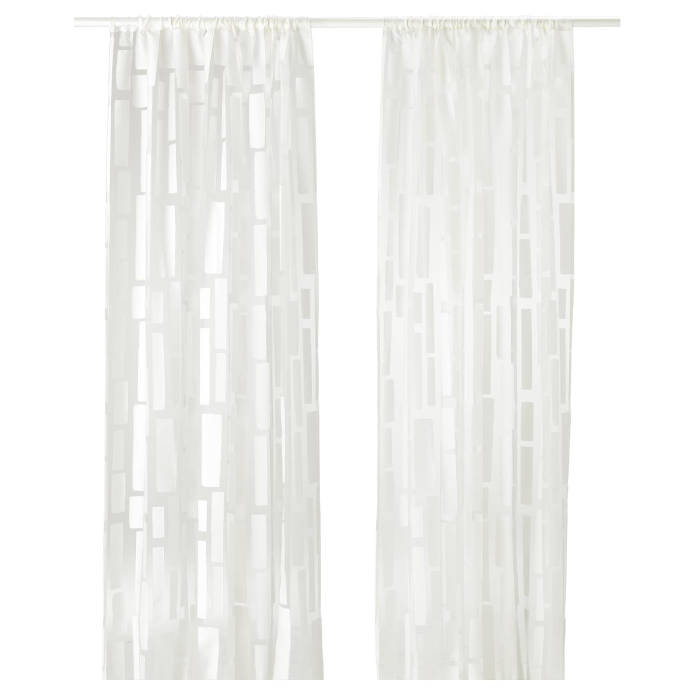 IKEA STRANDRÅG Sheer Curtains, 1 Pair