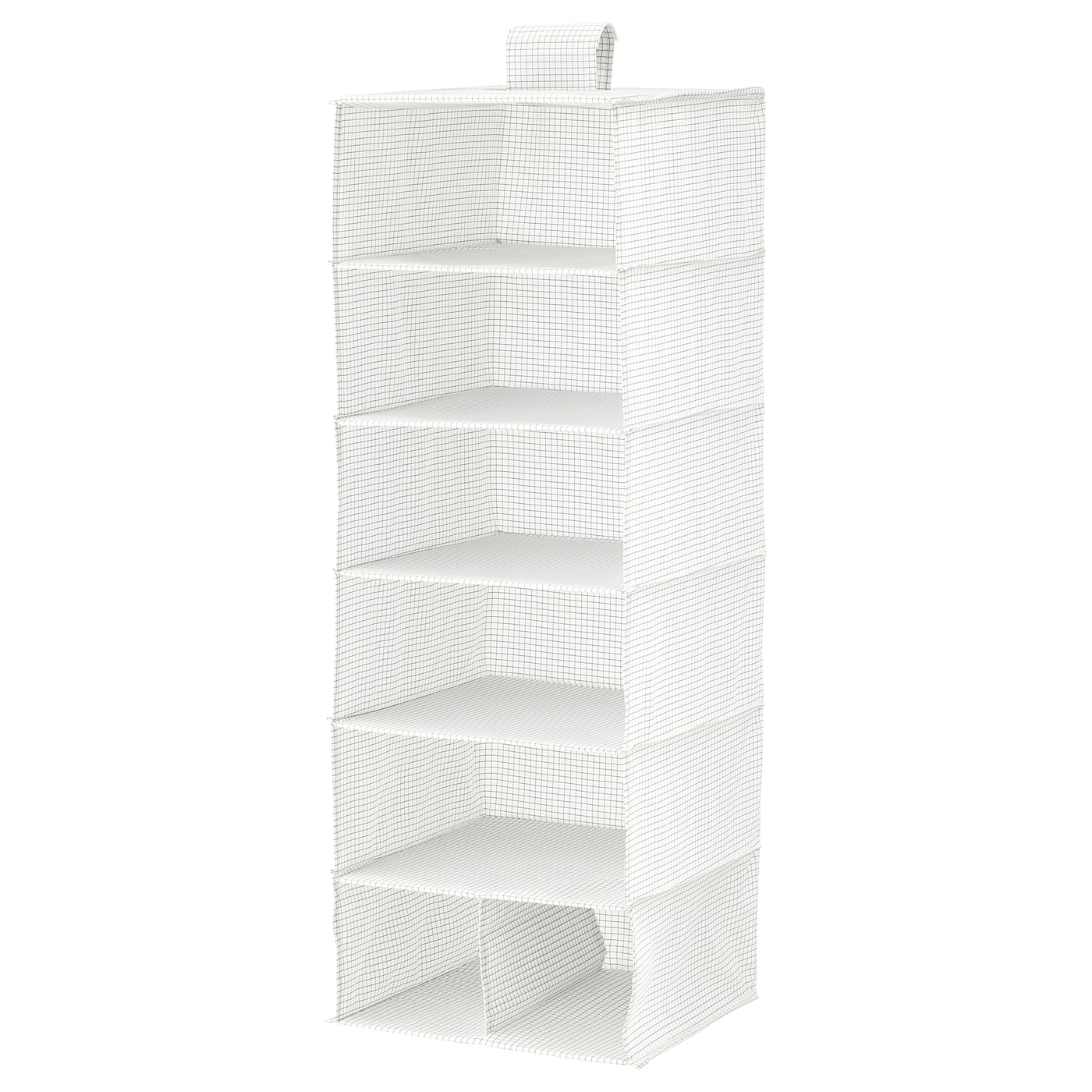 IKEA STUK storage with 7 compartments Takes little room to store as it folds flat.