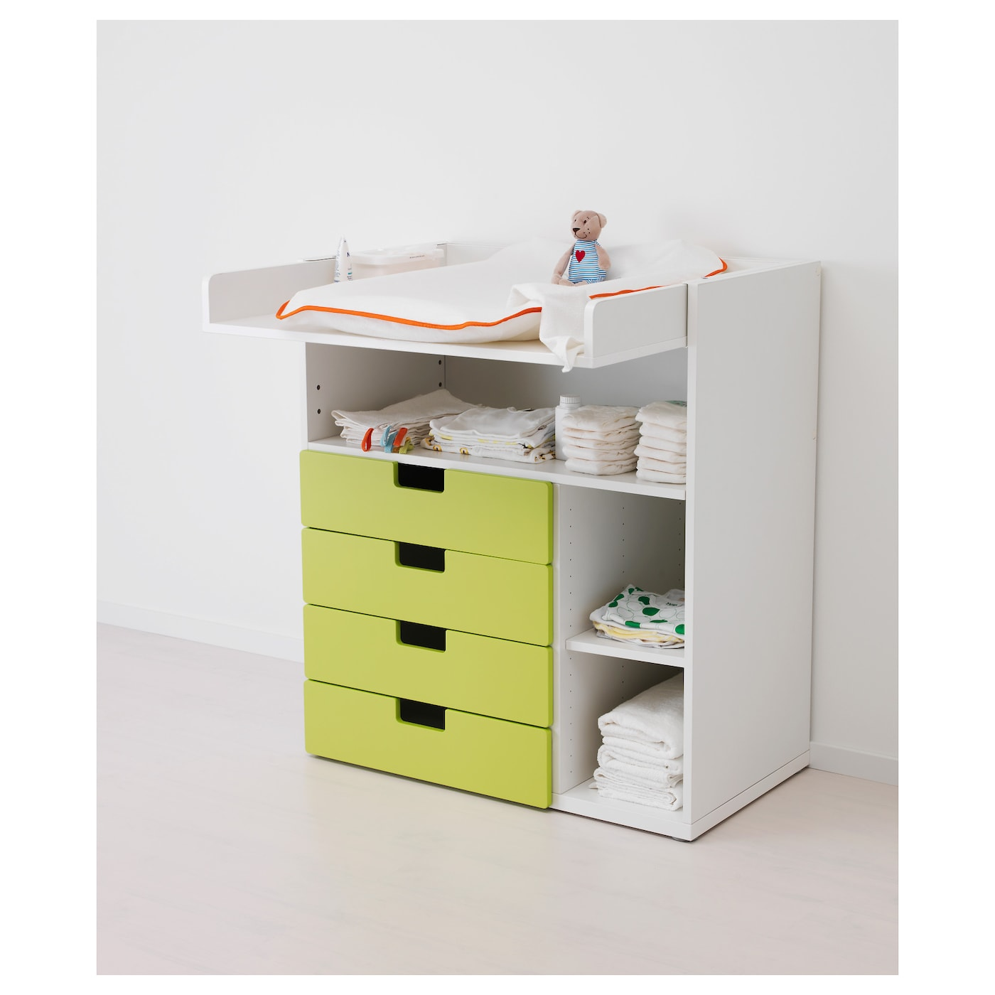 Trysil Ikea Bed Frame Review ~ Changing table desk STUVA White