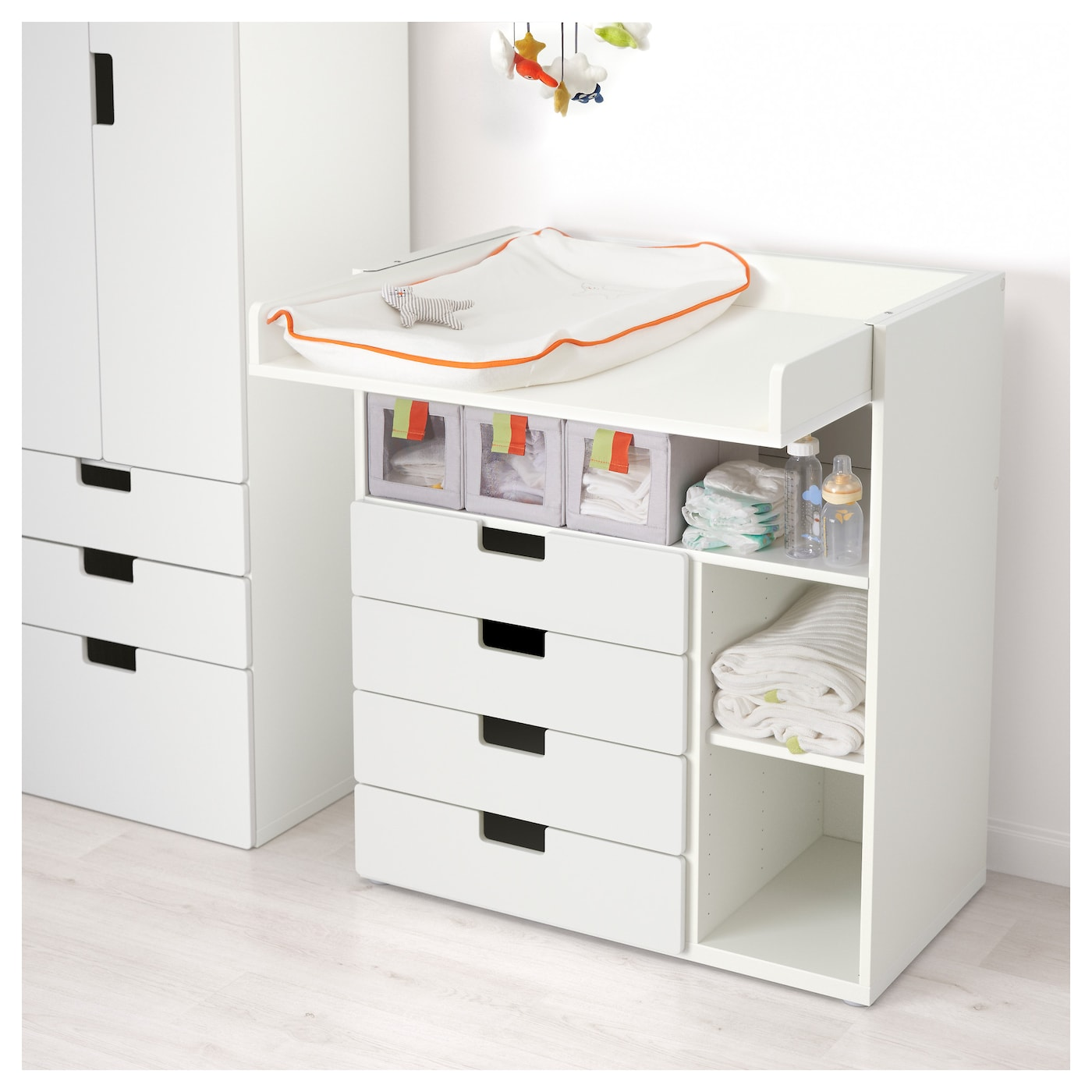 Ikea Mandal As Changing Table