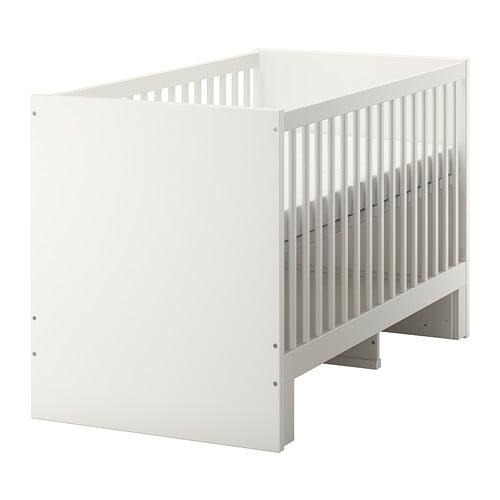 stuva cot white 70x140 cm ikea. Black Bedroom Furniture Sets. Home Design Ideas