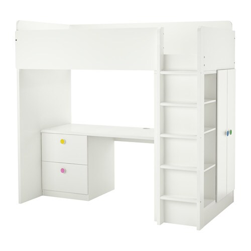 IKEA STUVA/FÖLJA loft bed combo w 2 drawer/2 doors