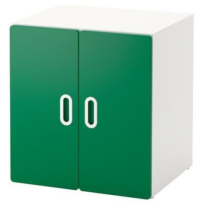 STUVA / FRITIDS cabinet white/green 60 cm 50 cm 64 cm