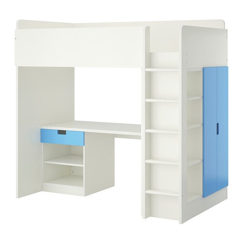 IKEA STUVA loft bed combo w 1 drawer/2 doors