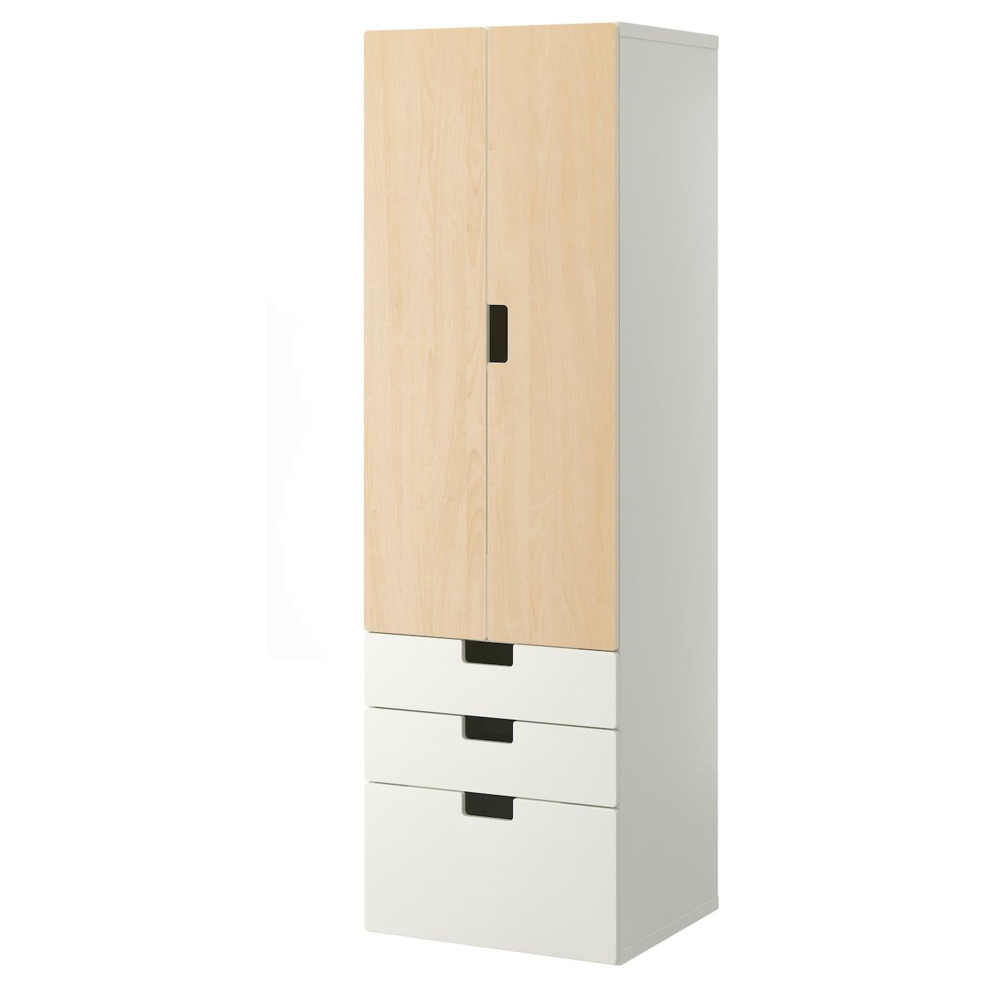 stuva storage combination w doors drawers white birch. Black Bedroom Furniture Sets. Home Design Ideas