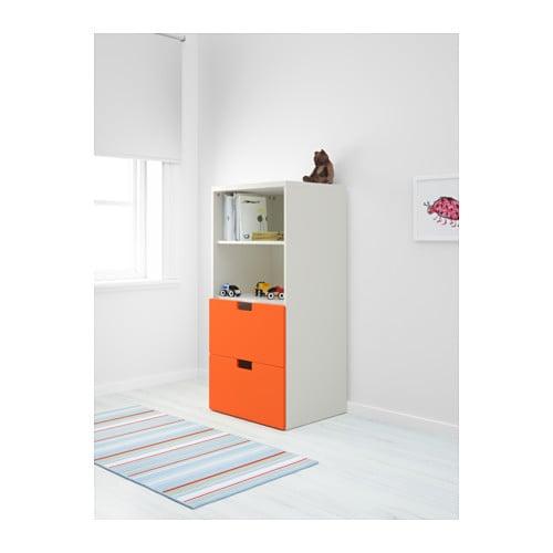 STUVA Storage combination Whiteorange 60x50x128 cm  IKEA -> Ikea Wandregal Orange