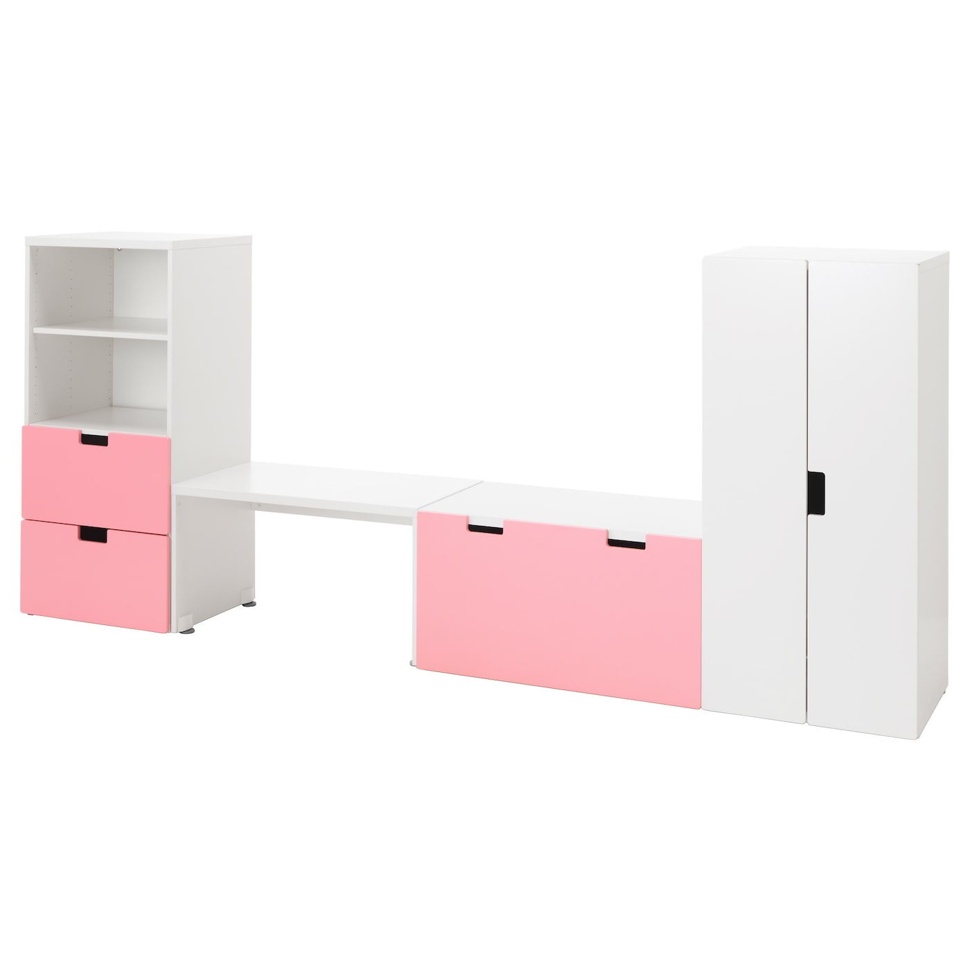IKEA STUVA storage combination with bench Doors with silent soft-closing damper.