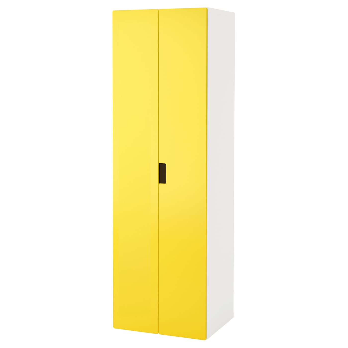Stuva Wardrobe White Yellow 60x50x192 Cm Ikea