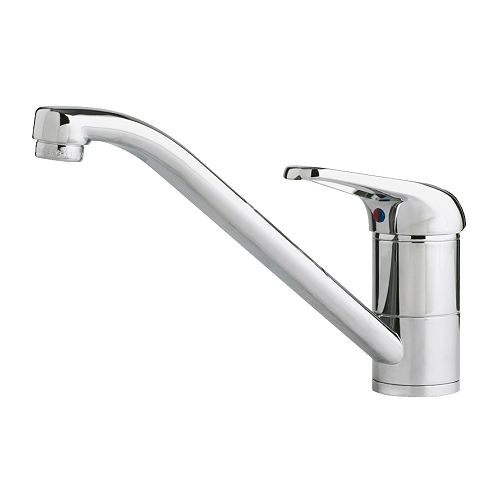 IKEA SUNDSVIK kitchen mixer tap 10 year guarantee. Read about the terms in the guarantee brochure.