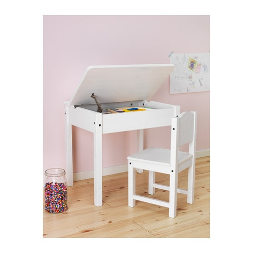 sundvik children 39 s desk white 58x45 cm ikea. Black Bedroom Furniture Sets. Home Design Ideas