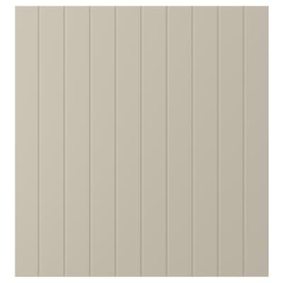 SUTTERVIKEN Door, grey-beige, 60x64 cm