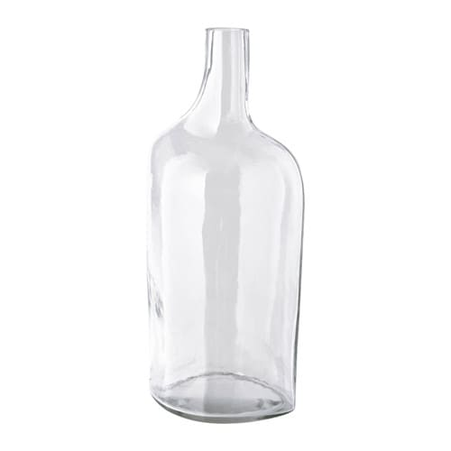 IKEA SVÄRTAN decorative bottle Handmade; each item has been shaped by a skilled craftsman.