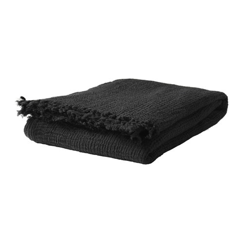 IKEA SVÄRTAN throw Wool is soil-repellent, hard-wearing and provides good insulation.