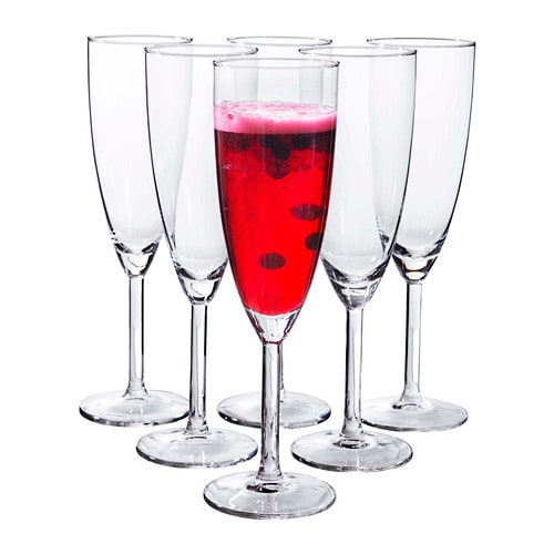 svalka champagne glass clear glass 21 cl ikea. Black Bedroom Furniture Sets. Home Design Ideas