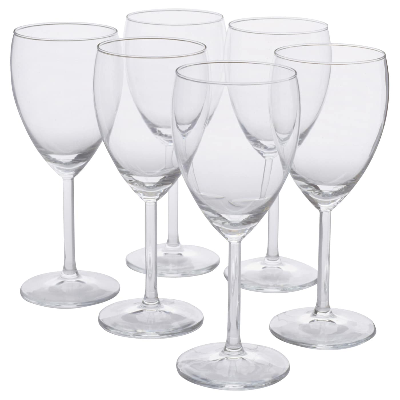 IKEA SVALKA white wine glass