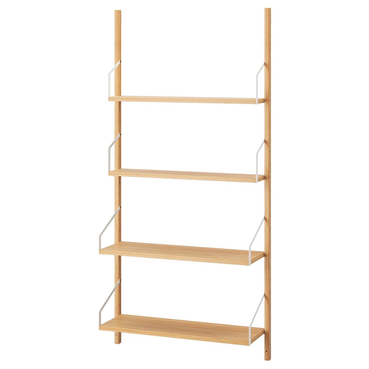 Ikea SvalnÄs Wall Mounted Shelf Combination