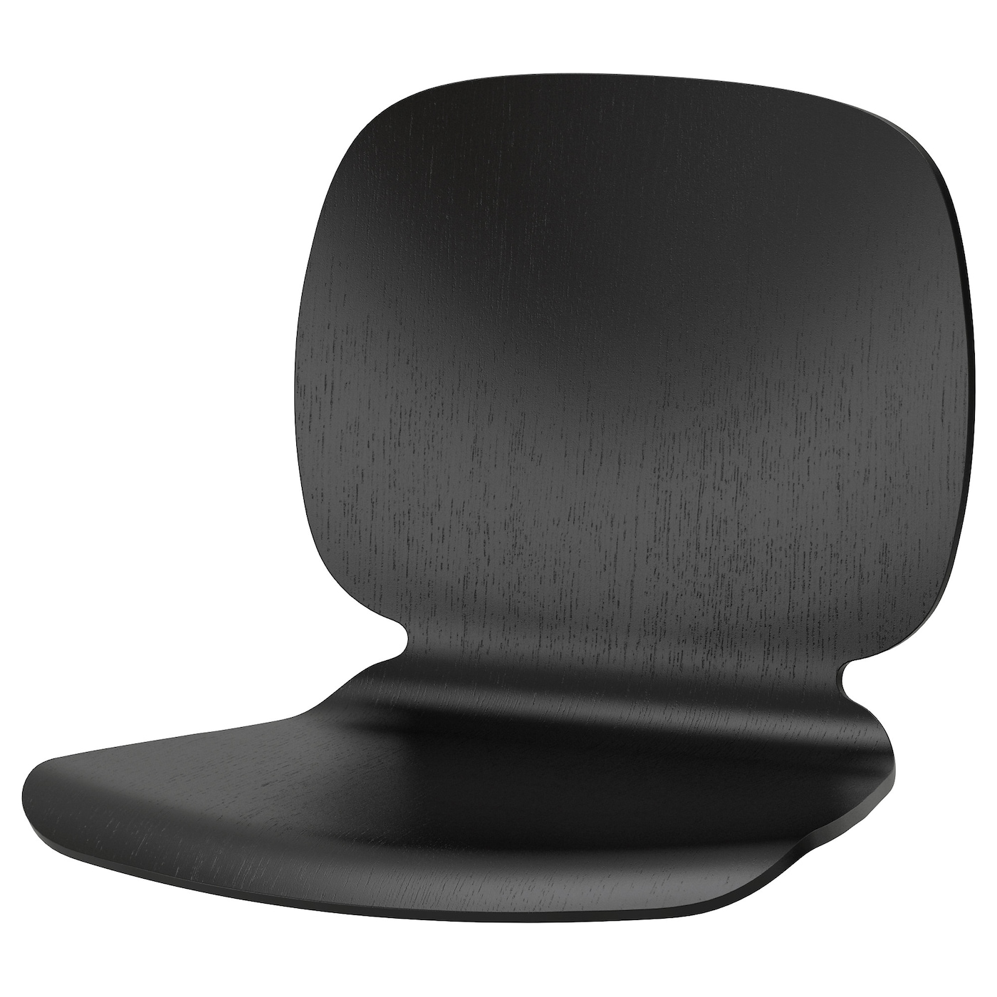 IKEA SVENBERTIL seat shell A special surface treatment on the seat prevents you from sliding.