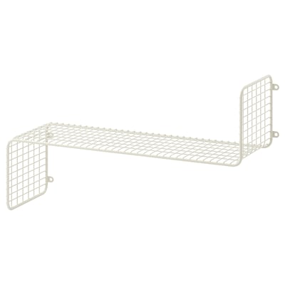SVENSHULT Wall shelf, white, 60x20 cm