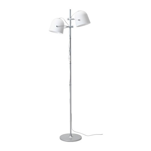 IKEA SVIRVEL floor lamp with 2 shades