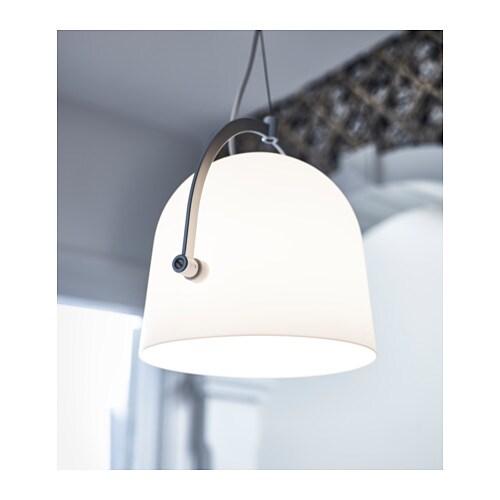 SVIRVEL Pendant Lamp White IKEA