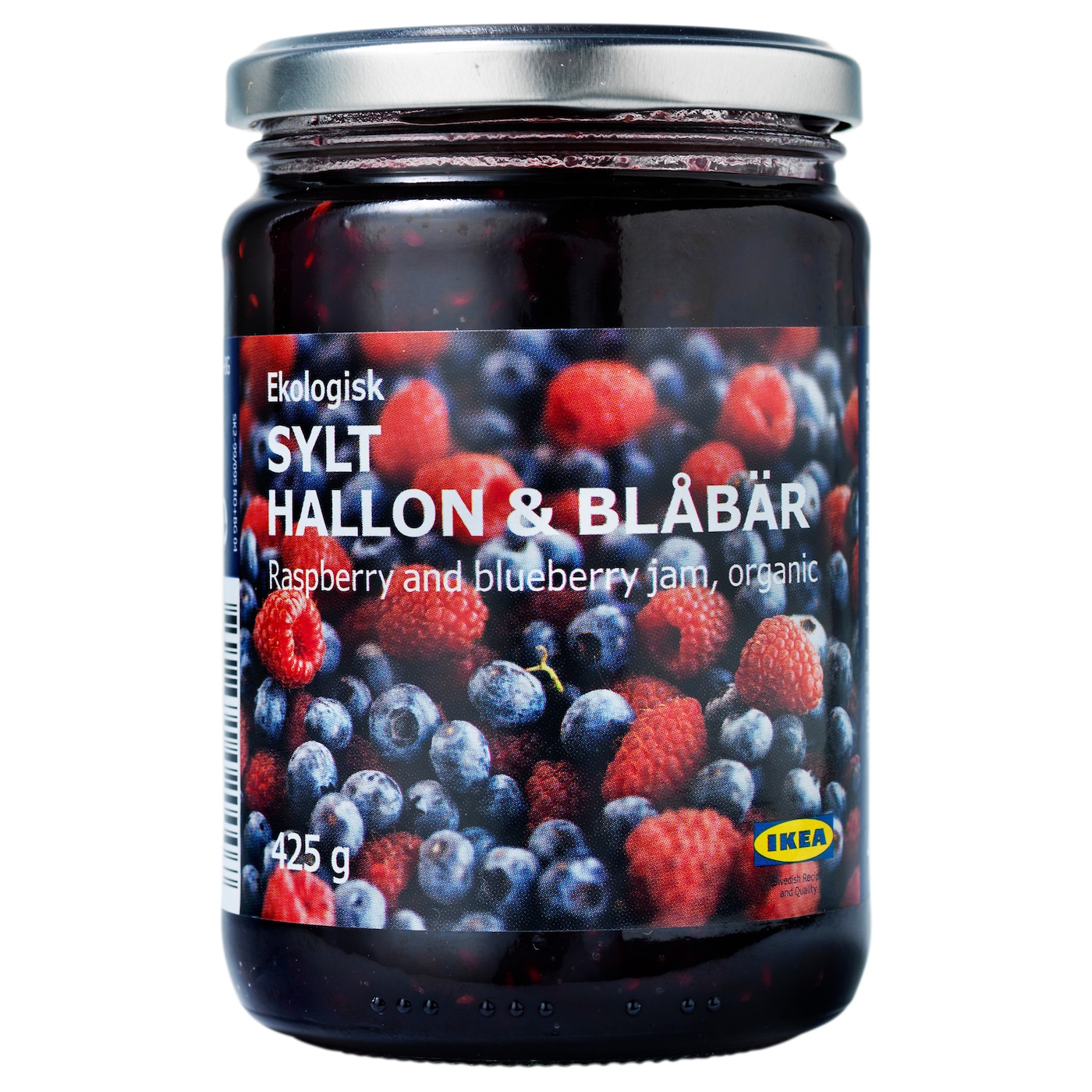 IKEA SYLT HALLON & BLÅBÄR rasp- and blueberry jam