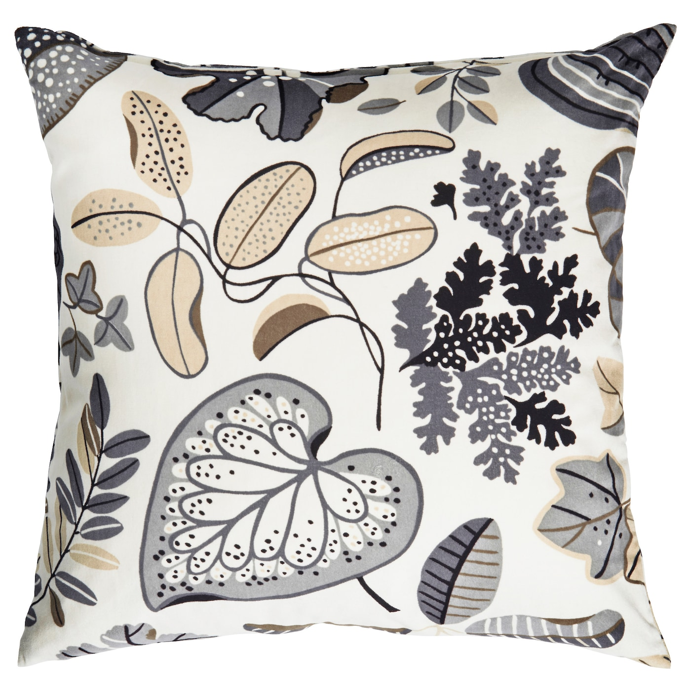 IKEA SYSSAN cushion Cotton velvet gives depth to the colour and softness to the touch.