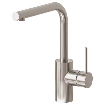 TÄMNAREN Kitchen mixer tap w sensor, stainless steel colour