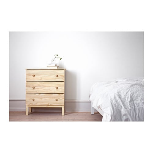 Ikea Tarva Chest Of  Drawers Made Of Solid Wood Which Is A Hardwearing And