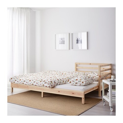 tarva day bed frame pine 80x200 cm ikea. Black Bedroom Furniture Sets. Home Design Ideas