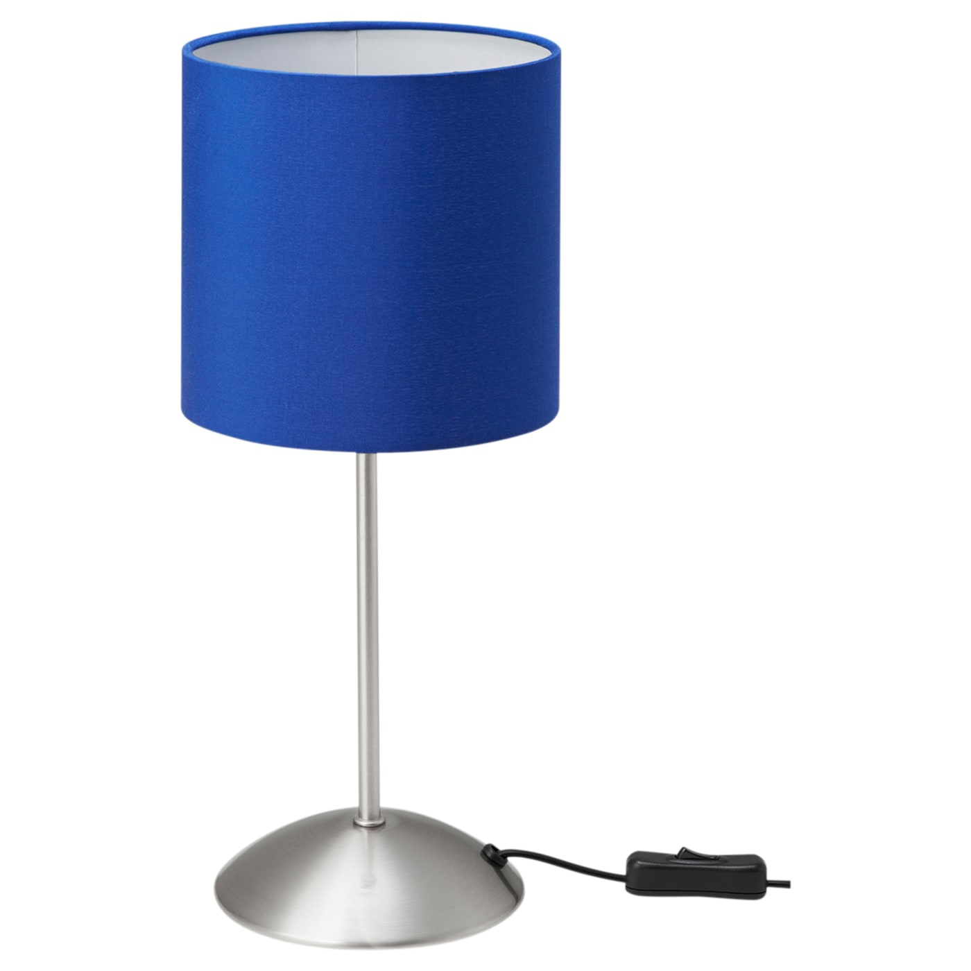 IKEA TIARP table lamp The textile shade provides a diffused and decorative light.