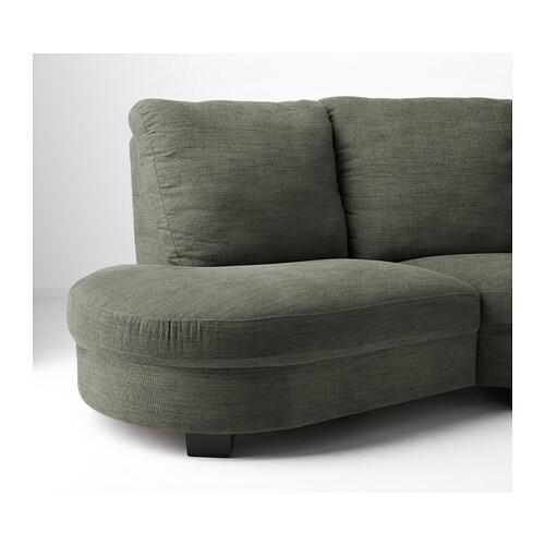 Ikea Tidafors Corner Sofa With Arm Right The High Back