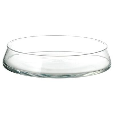 TIDVATTEN bowl clear glass 26 cm