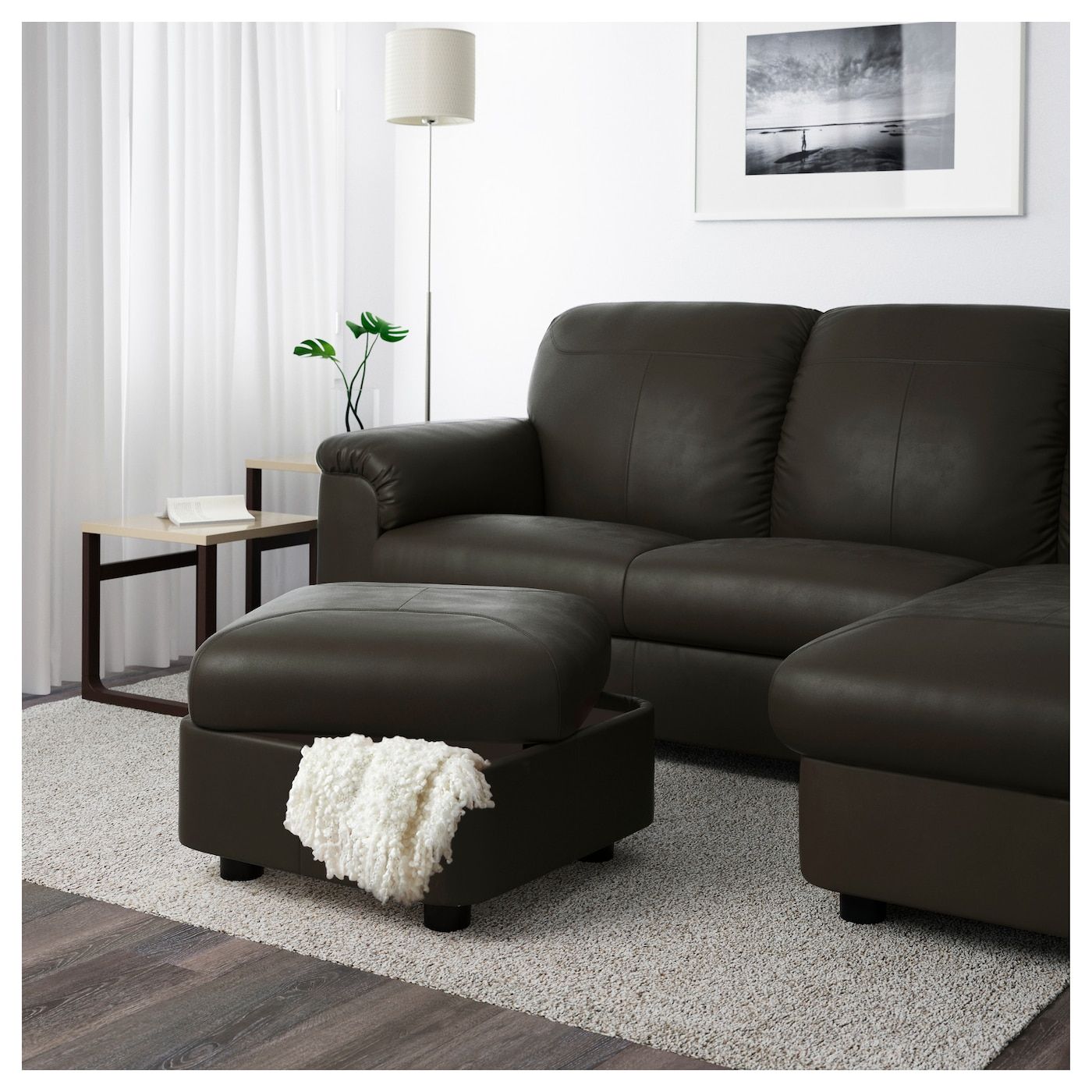 IKEA TIMSFORS footstool Works as an extra seat or footstool.
