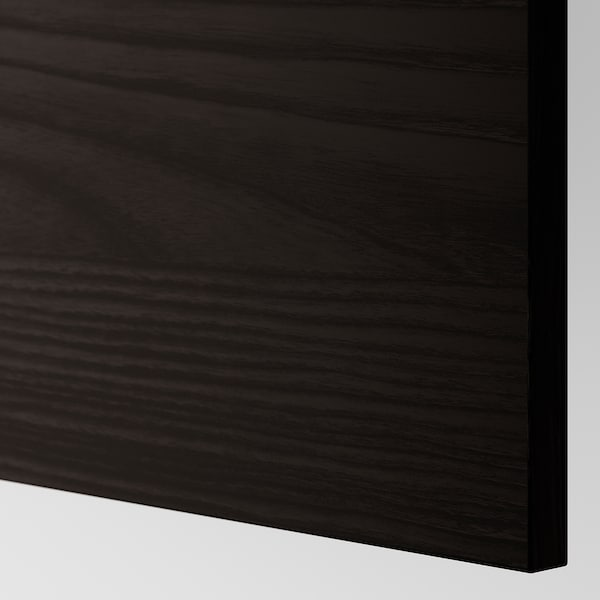 TINGSRYD cover panel wood effect black 39.0 cm 106 cm 39 cm 106.0 cm 1.3 cm