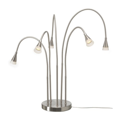 TIVED LED table lamp IKEA Flexible arm; makes it easy to direct the light according to need.