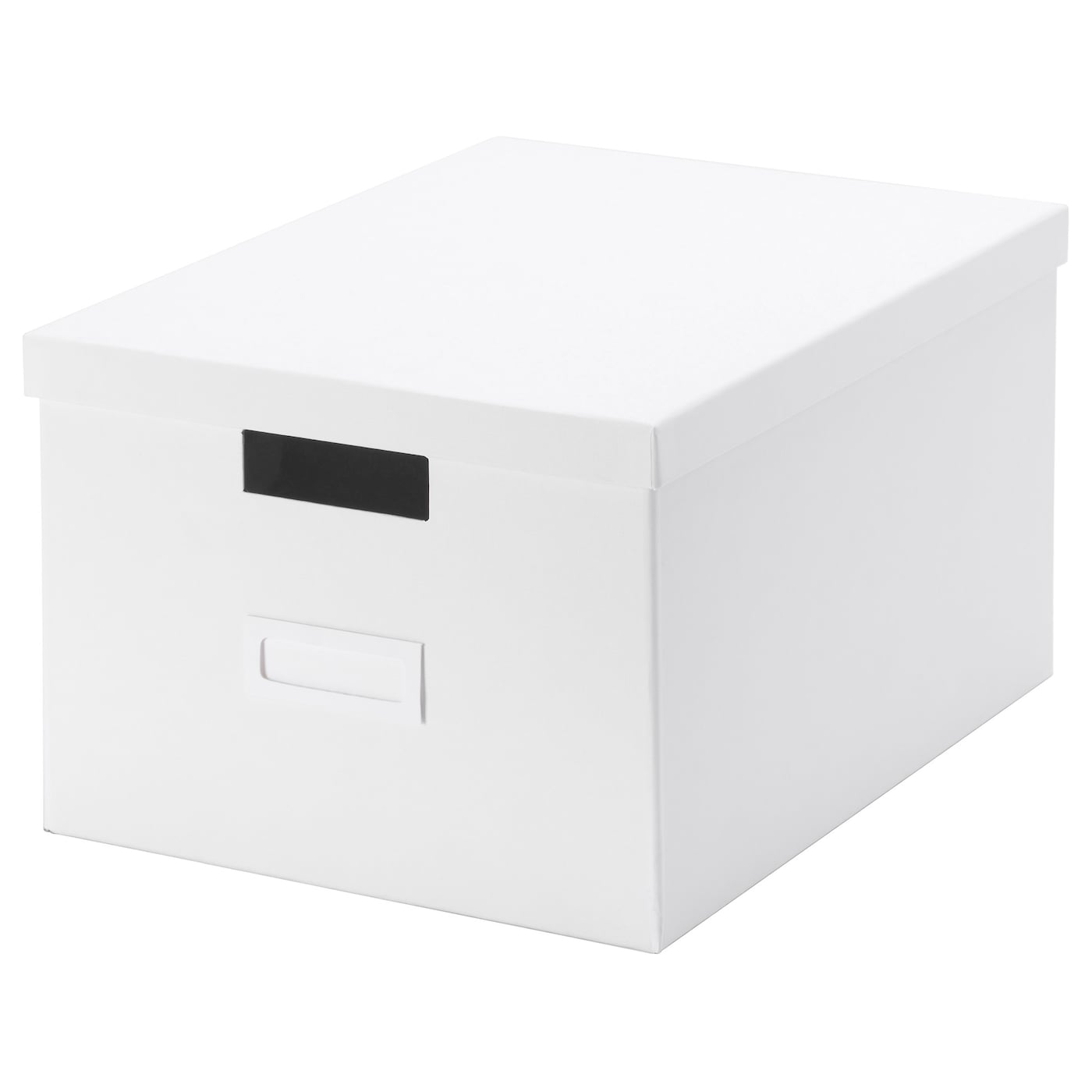 IKEA TJENA box with lid Perfect for papers, photos or other memorabilia