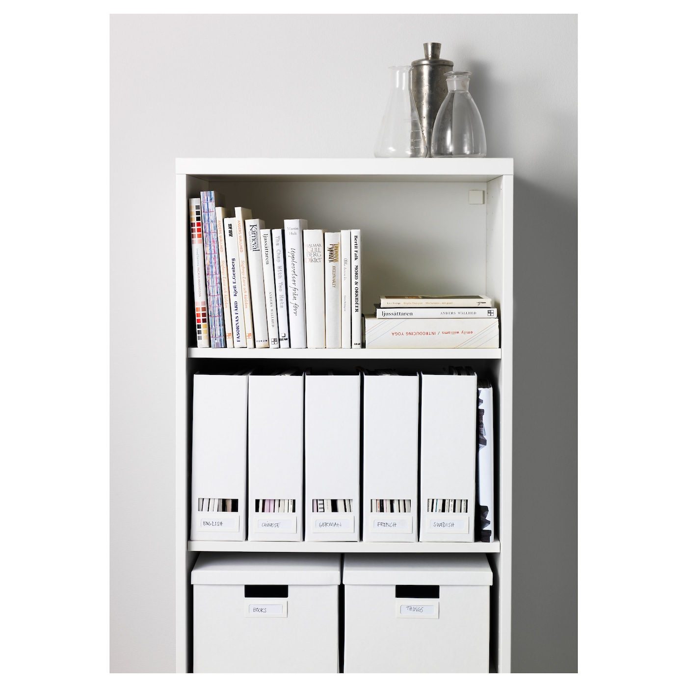 tjena magazine file white ikea. Black Bedroom Furniture Sets. Home Design Ideas