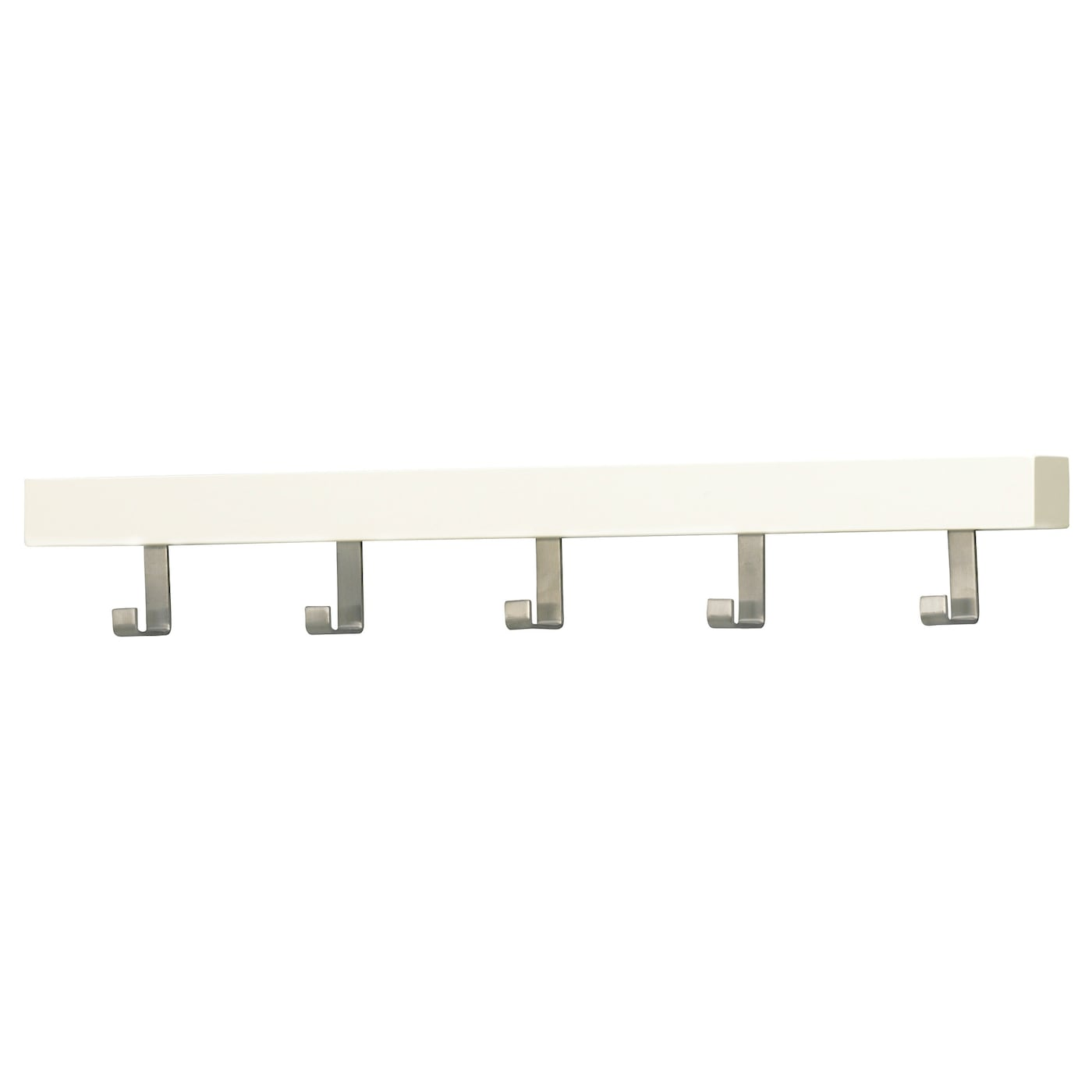 Tjusig hanger for door wall white 60 cm ikea for White wall hook rack