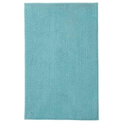 TOFTBO Bath mat, turquoise, 50x80 cm