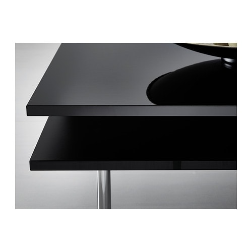 TOFTERYD Coffee table High-gloss black 95x95 cm - IKEA