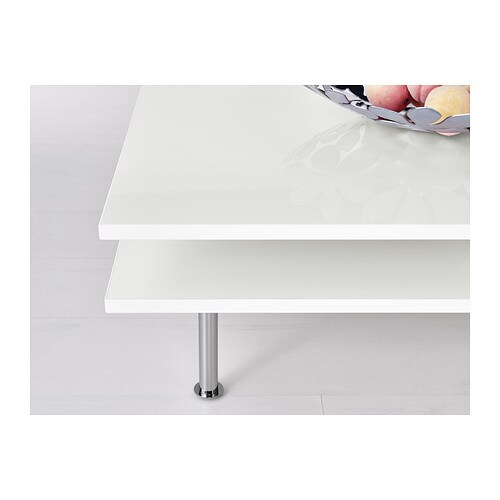 Coffee Table TOFTERYD High Gloss White