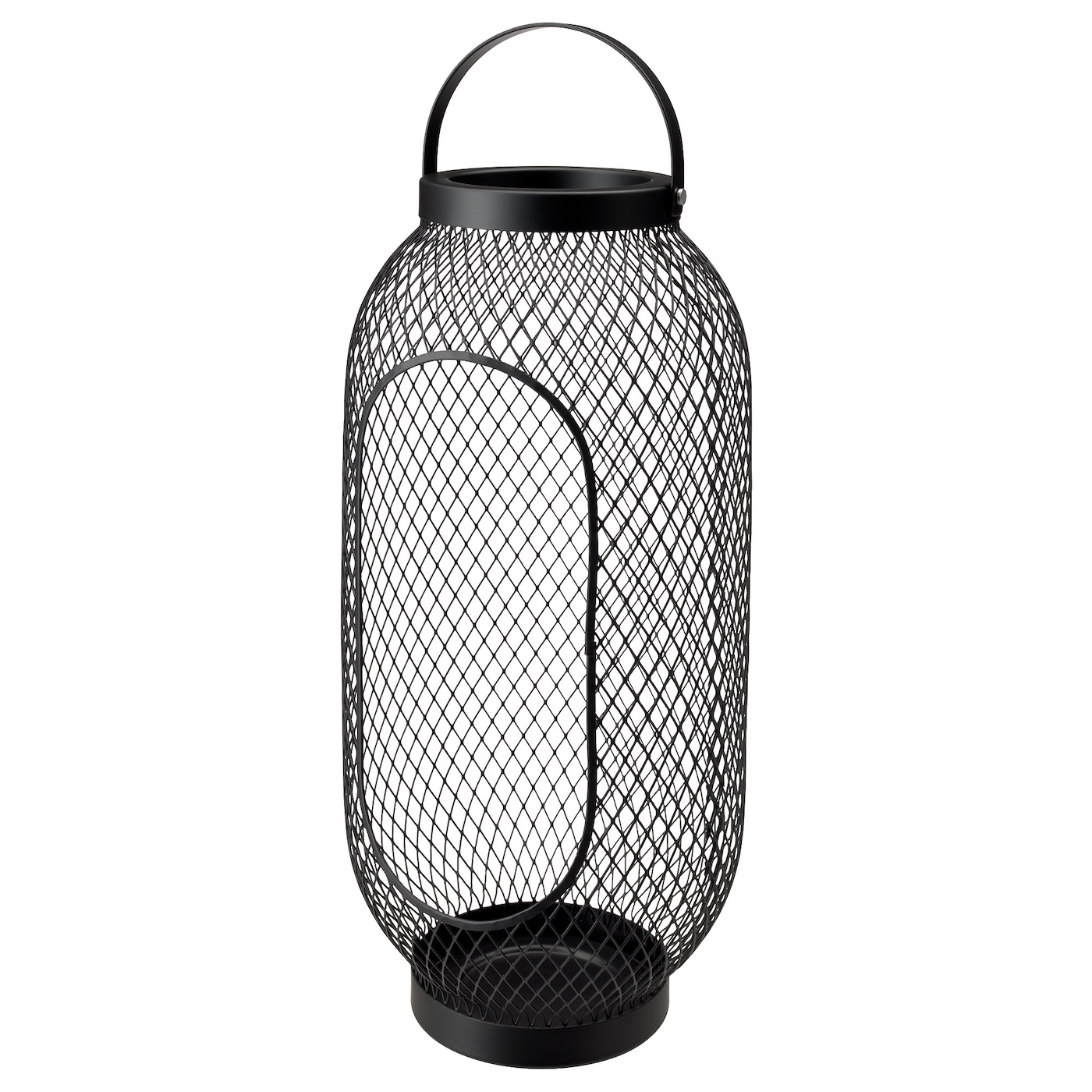 IKEA TOPPIG lantern for block candle