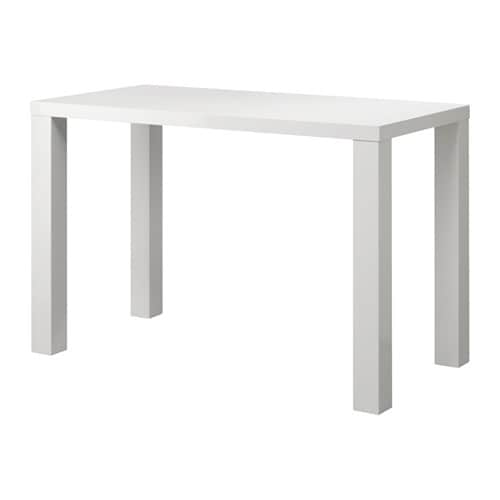 TORESUND Bar Table Whitehigh gloss 70x140 Cm IKEA